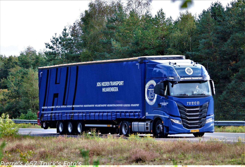 Jos Heeren Volumetransport vrachtwagen